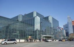 Javits Convention Center en Manhattan Foto de archivo libre de regalías