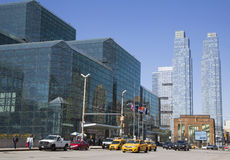 Javits Convention Center i Manhattan Royaltyfri Bild