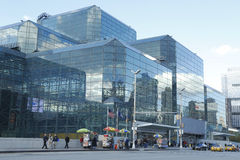 Javits Convention Center in Manhattan Fotografia Stock Libera da Diritti