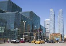 Javits Convention Center in Manhattan Royalty-vrije Stock Afbeelding