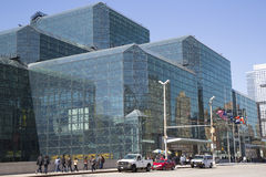 Javits Convention Center in Manhattan Royalty Free Stock Photos