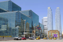 Javits Convention Center in Manhattan Royalty Free Stock Photography