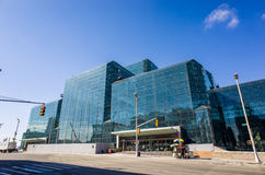 Javits Convention Center in Manhattan Stock Photo