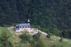 Javorca, Erinnerungskirche des Heiliger Geist Stockfotografie