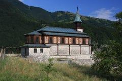 Javorca, Memorial church of the Holy Spirit Stock Photos