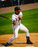Javy Lopez, Atlanta Braves catcher. Royalty Free Stock Photos