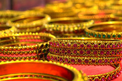 Jaw Biting bangles Stock Images
