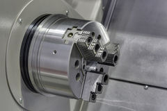Jaw Chuck Stock Photo