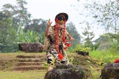 Jawańczyka Cirebon taniec Obrazy Stock