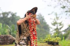 Jawańczyka Cirebon taniec Obrazy Royalty Free