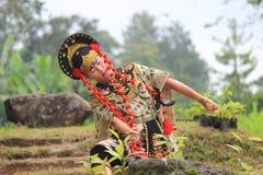 Jawańczyka Cirebon taniec Zdjęcie Royalty Free