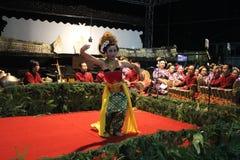 Jawańczyka Gambyong taniec Zdjęcia Stock