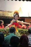 Jawańczyka Gambyong taniec Fotografia Royalty Free