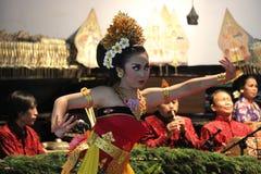 Jawańczyka Gambyong taniec Obrazy Stock
