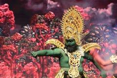 Jawa de Wayang wong fotos de stock royalty free