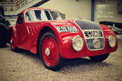 Jawa 750. Image classic car which one by produce 1935. Only one of its kind in the world stock photography