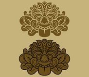 Jawa Kalamakara ornament Royalty Ilustracja