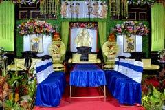 Jawa ślubna dekoracja Zdjęcia Stock