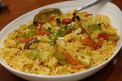 Jawa owoce morza smażący ryż Zdjęcia Stock