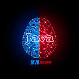 Jawa przedsiębiorcy budowlanego pojęcie Obraz Royalty Free