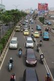Jawabarat för depok för gataatmosfärmargonda royaltyfri fotografi