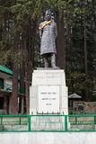 Jawaharlal Nehru-standbeeld stock afbeeldingen