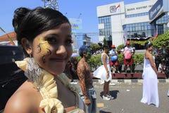 Jawajska dziewczyna Obrazy Royalty Free