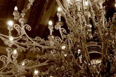 Jawajska klasyczna lampa Obrazy Stock