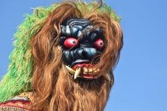 Jawajska mit maska obrazy stock