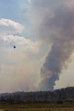 Jawbone Complex Fire. In Kern County, CA Stock Photo