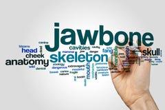 Jawbone word cloud Stock Images