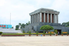 Jawna lokacja buduje Ho Chi Minh muzeum obraz stock