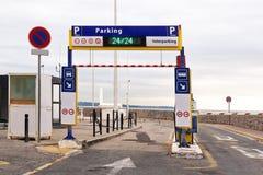 Jawna parking wejścia rampa Obraz Royalty Free