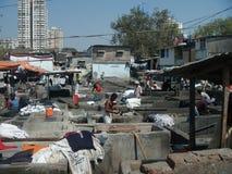 Jawna pralnia w Mumbai Zdjęcie Stock