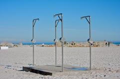 jawna prysznic Obrazy Stock