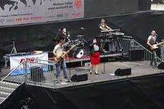 Jawna przegląda Co twarzy arena Mainz Zdjęcie Royalty Free