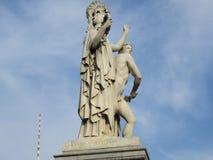Jawna sztuki rzeźba w Paryż Zdjęcie Royalty Free