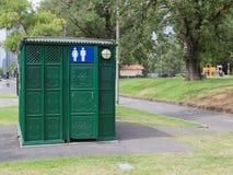Jawna toaleta w ulicie, Melbourne Fotografia Stock
