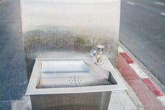 Jawna woda pitna Zdjęcia Stock