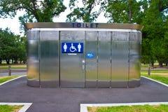 Jawne toalety Obrazy Stock