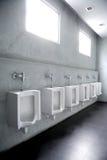 Jawne toalety Zdjęcia Royalty Free
