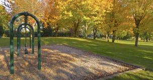 Jawnego parka panorama Gresham Oregon. Obraz Royalty Free