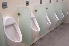 Jawnej toalety wnętrze Obrazy Stock