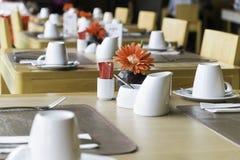 Jawny łomota stołu set Obraz Stock