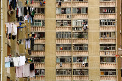 Jawny blok mieszkaniowy zdjęcie stock