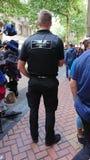 Jawny egzekwowanie oficer na obowiązku fotografia stock