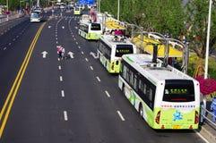 jawny expo2010 porcelanowy transport Shanghai Obrazy Royalty Free