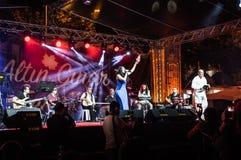 Jawny festiwal muzyki Obrazy Royalty Free