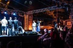 Jawny festiwal muzyki Zdjęcie Stock