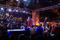 Jawny festiwal muzyki Zdjęcie Royalty Free